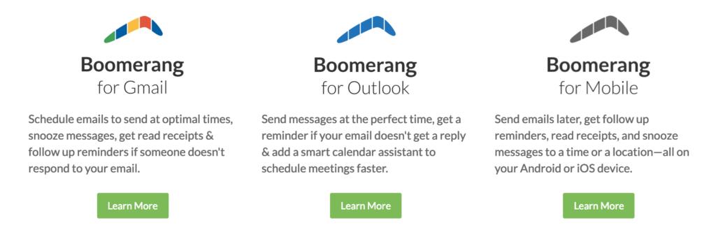 boomerang email logo