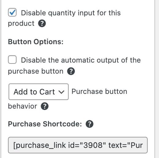 Shortcode in Easy Digital Downloads